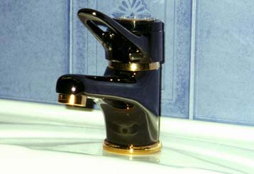 A water tap with screwing arrangements